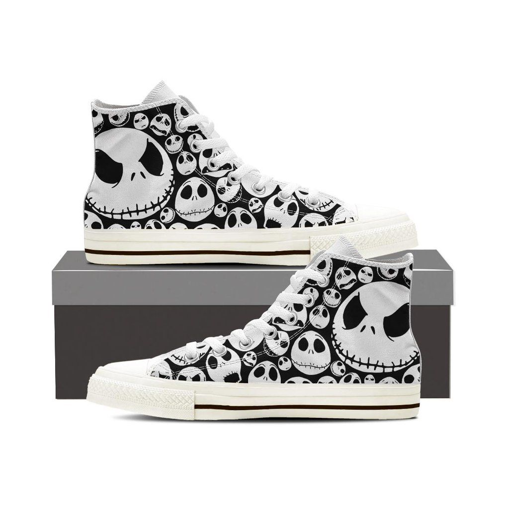 c31929f1f296 Jack Skellington NBC Women High Top Shoes