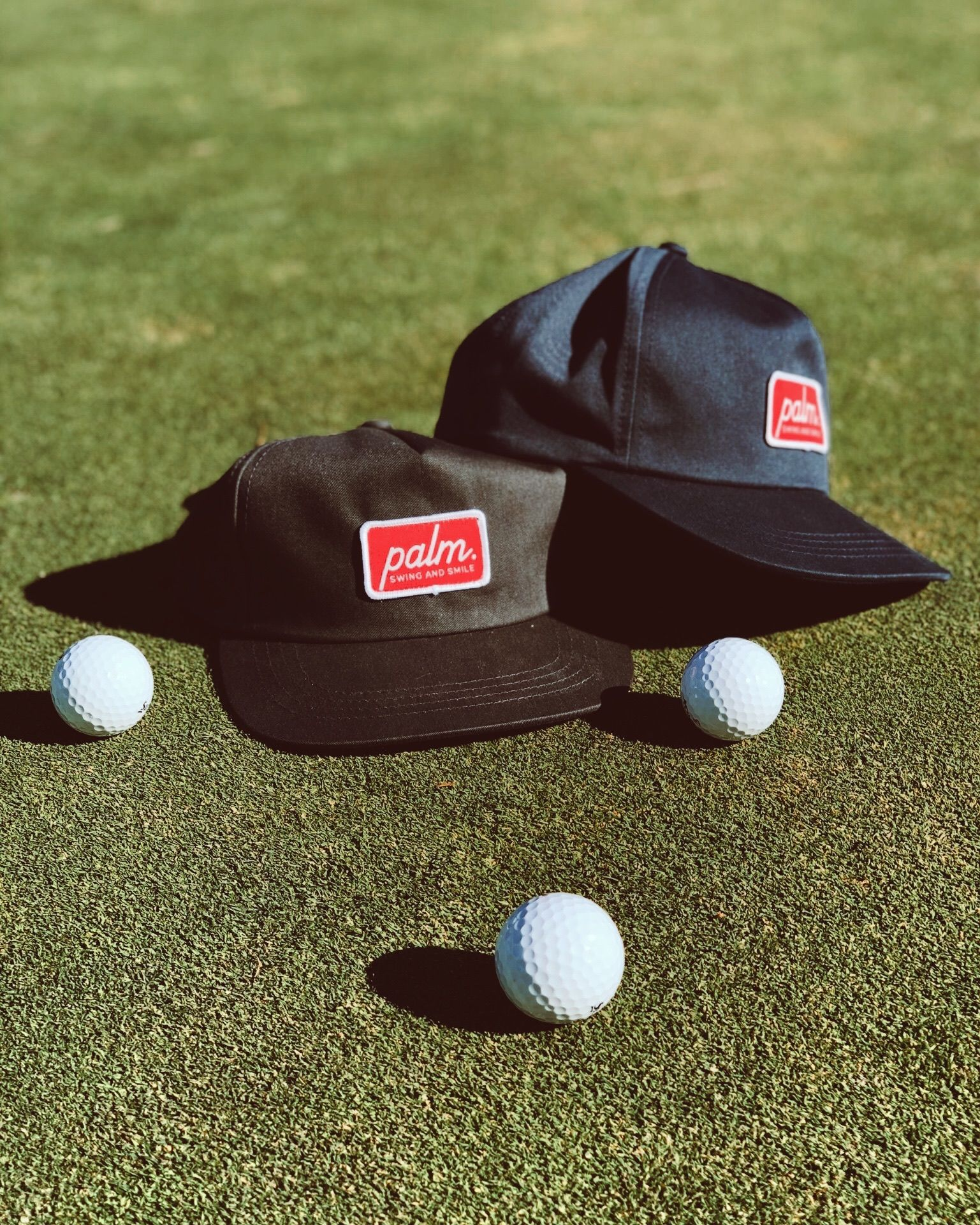 The Roadie is our mid-crown, high style snap-back hat for the course