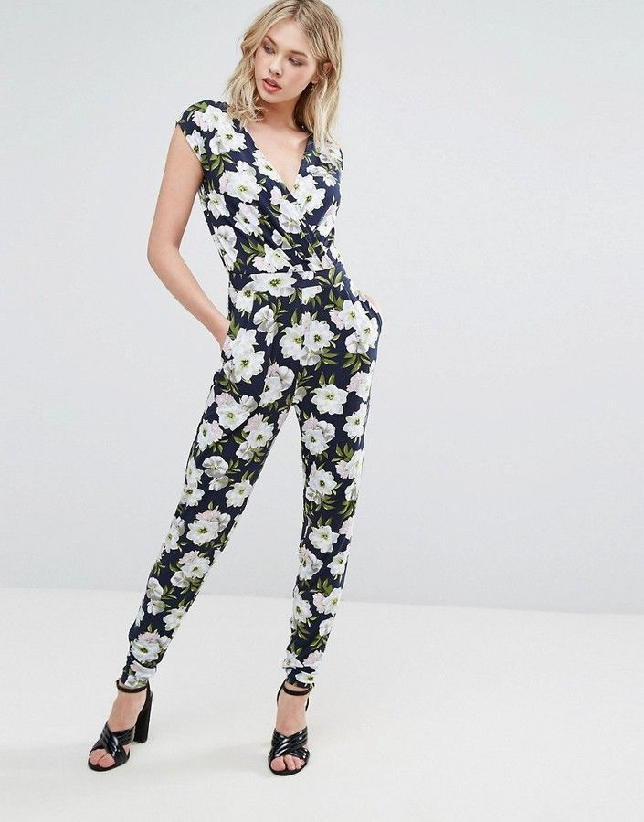 6b64b3ea9b Oasis Floral Tailored Jumpsuit at asos.com. Women s Jumpsuits ...