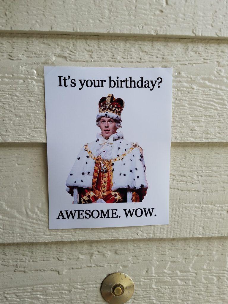 Hamilton birthday party. 6 year old wants a Hamilton