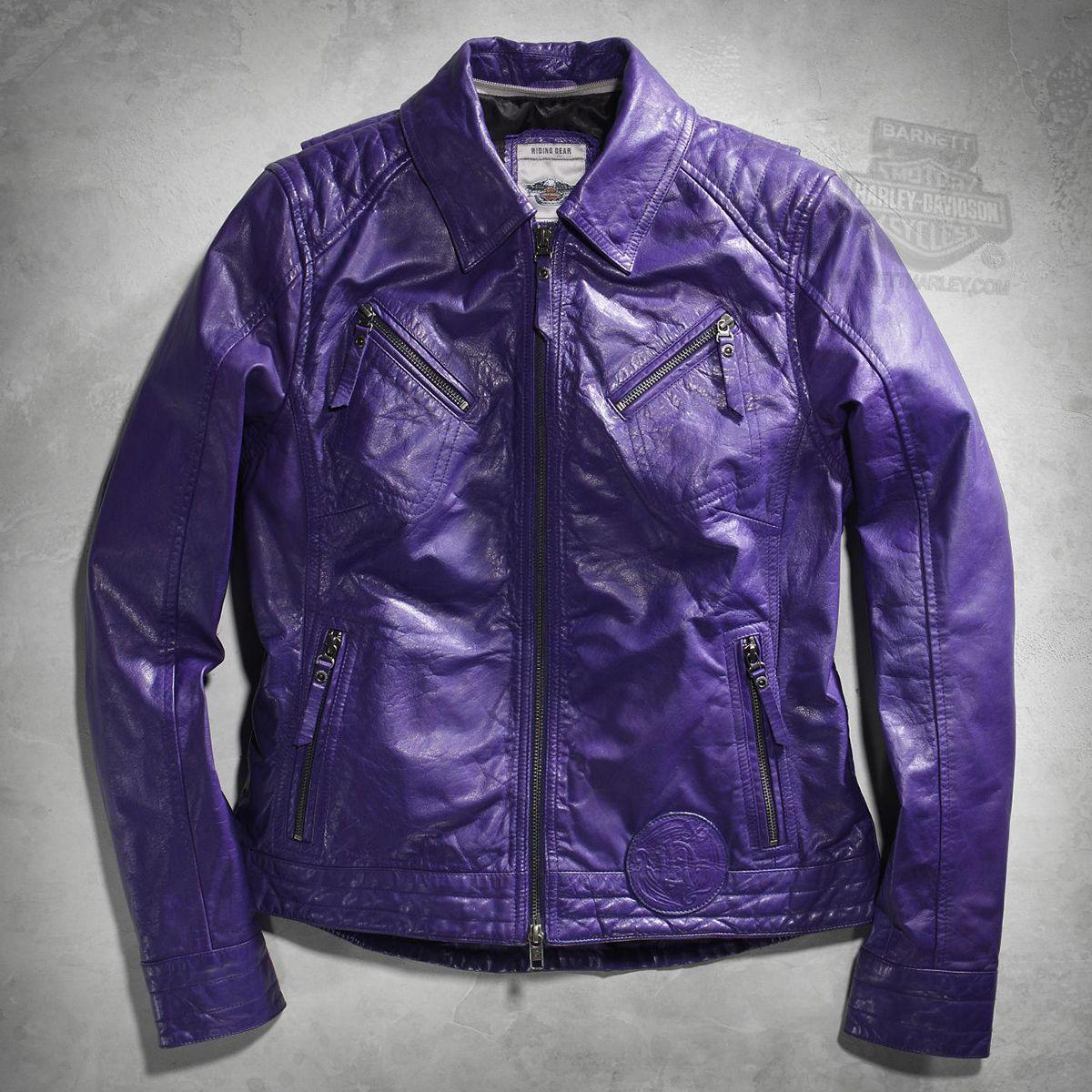 Harley Davidson 97089 16vw Harley Davidson Womens Starless Mock 3 In 1 With Zip Off Hood Leather Jacket Leather Jacket Jackets Harley [ 1200 x 1200 Pixel ]