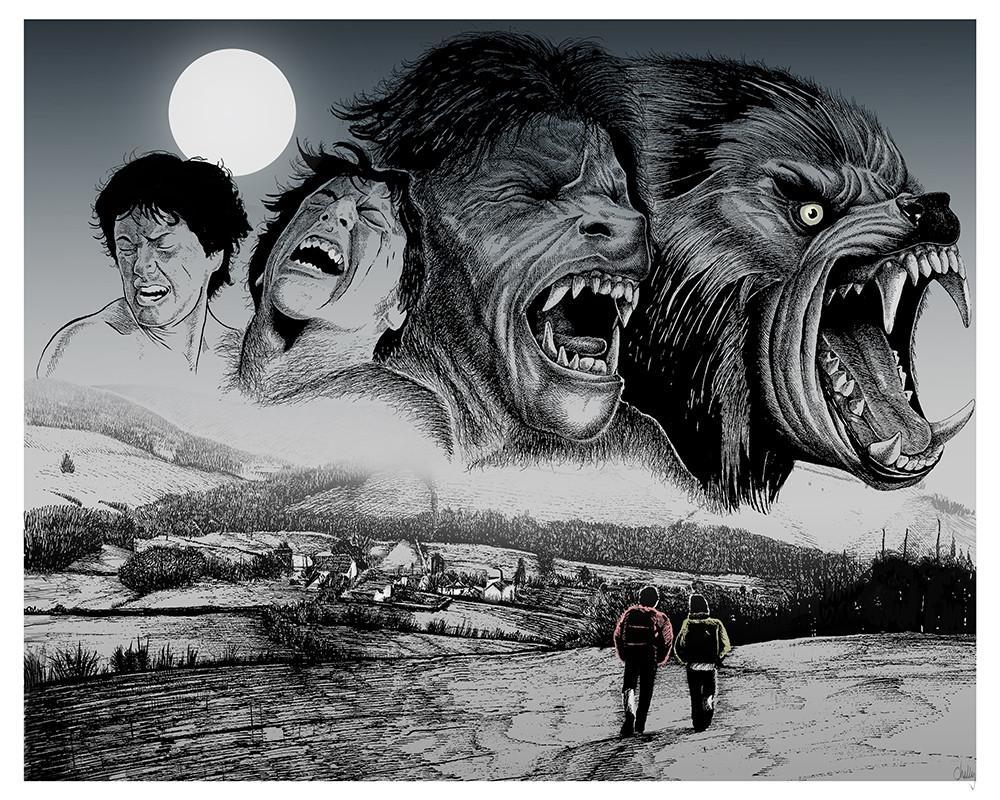 Beware The Moon By Mark Chilcott American Werewolf In London