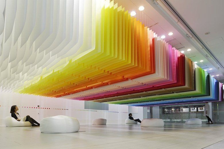 100 colors, Tokyo, 2013 - emmanuelle moureaux architecture design