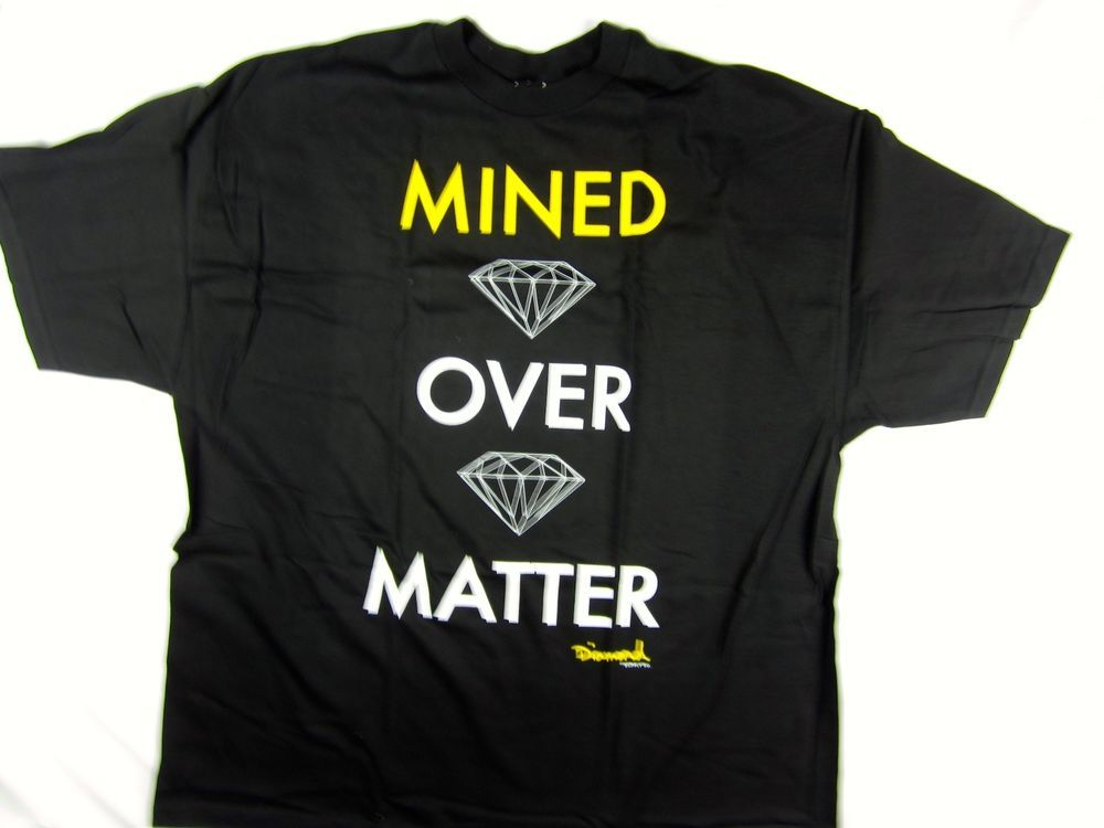 Diamond Supply Co Mined Denim shirt men's skate Urban size 3XL #DiamondSupplyCo #GraphicTee