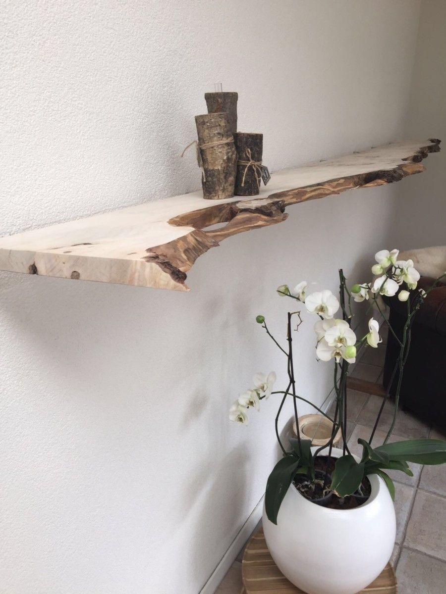 Floating shelf zwevende wandplank amine pinterest