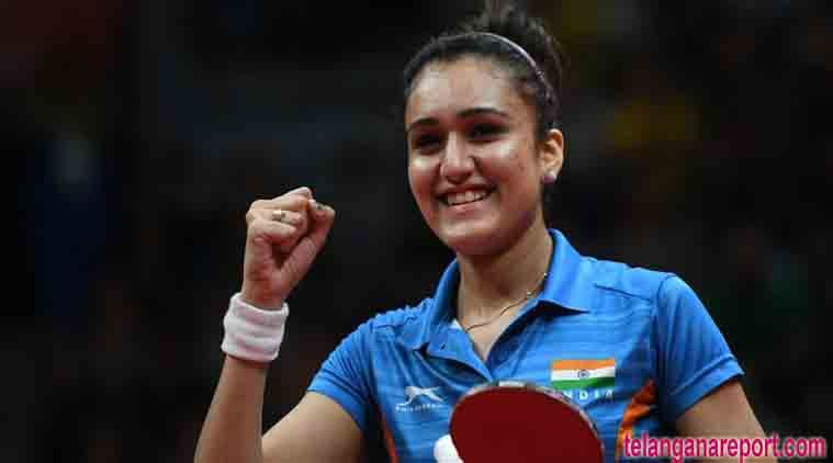 Cwg Star Manika Batra Recommended For Arjuna With Images Table Tennis Player Stars Table Tennis