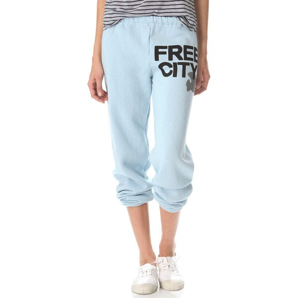 Freecity Trucolors Sweatpants 148 Liked On Polyvore Featuring Activewear Activewear Pants Fresh Blue Blue S Active Wear Pants Sweatpants Clothing Brand