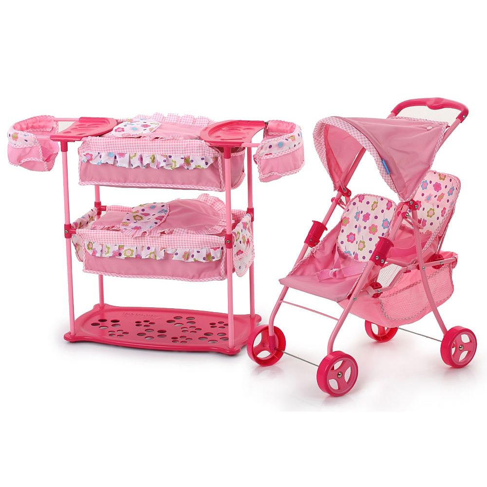 Hauck Spring Twin Doll Playset Baby Doll Strollers Baby Doll Nursery Baby Dolls For Kids