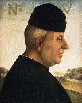 Luca Signorelli (1441-1523) - Ritratto di Niccolò Vitelli - 1492-1496 circa - Barber Institute of Fine Arts a Birmingham.