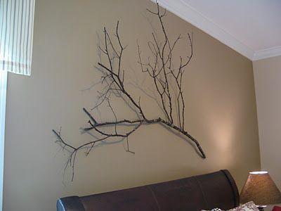 Branch Wall Art tree branch wall art | projects | pinterest