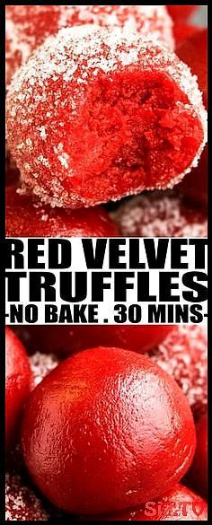Quick and easy no bake RED VELVET TRUFFLES recipe  red velvet cake truffles  wit   Quick and easy no bake RED VELVET TRUFFLES recipe  red velvet cake truffles  wit   Quick and easy no bake RED VELVET TRUFFLES recipe  red velvet cake truffles  with cream cheese are a bite sized dessert or snack with rich and creamy texture  From cakewhiz truffles redvelvet dessert Quick and easy no bake RED VELVET TRUFFLES  hellip