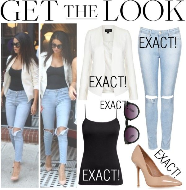 """Get The Look - Selena Gomez"" by randomoutfitsandstyle on Polyvore"