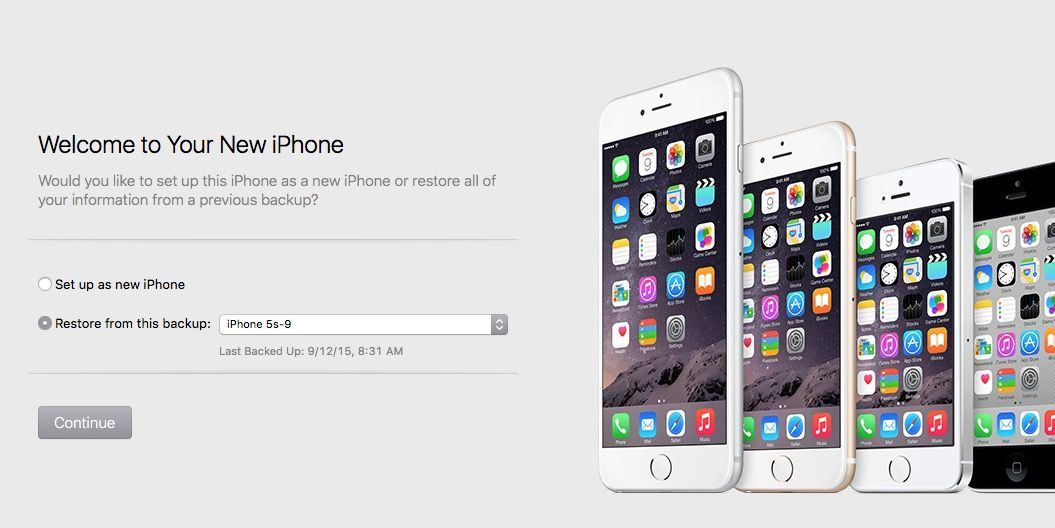 HowTo Quickly transfer your old iPhone's files to a new