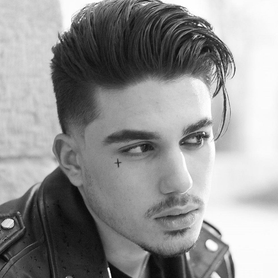 Modern haircut for men 2018 men hairstyle  modern quiff quiff hairstyle pompadour vs undercut