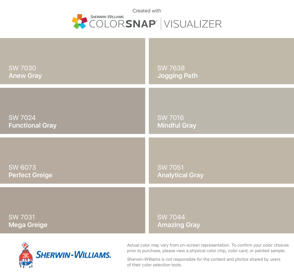 I Found These Colors With Colorsnap Visualizer For Iphone By Sherwin Williams Anew Gray Sw 7030 Sherwin Williams Colors Paint Colors For Home Agreeable Gray