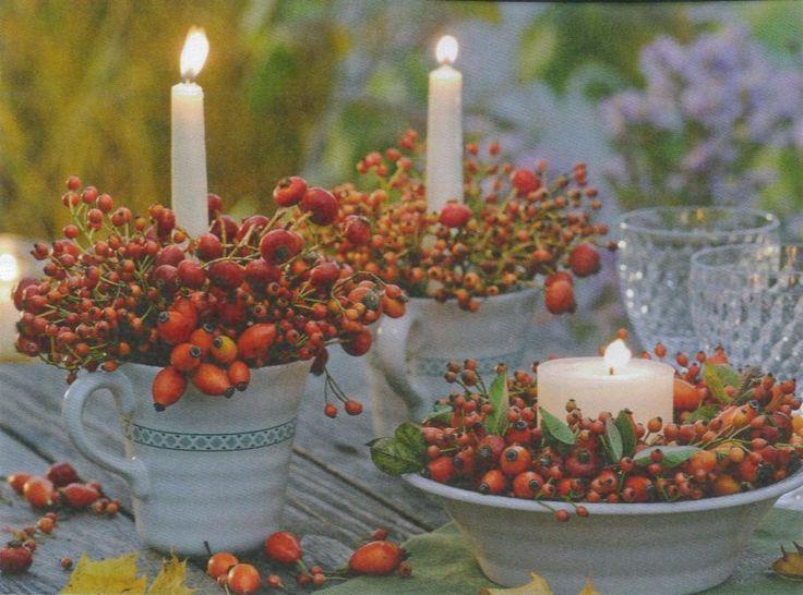 Herbst Dekoration, Herbst Außendekoration Und