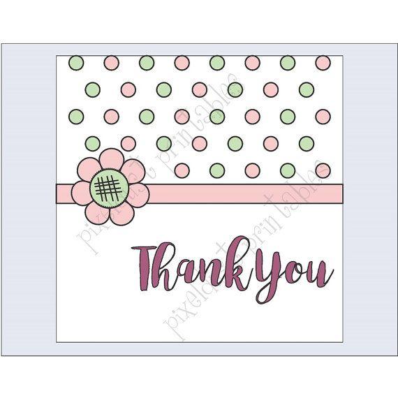 Notecard  Gift Tags  Matching Envelope  by PixelDustPrintables1