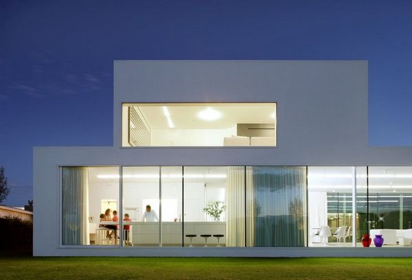Minimalist Villa Design minimalist villa in belgium   architecture   pinterest