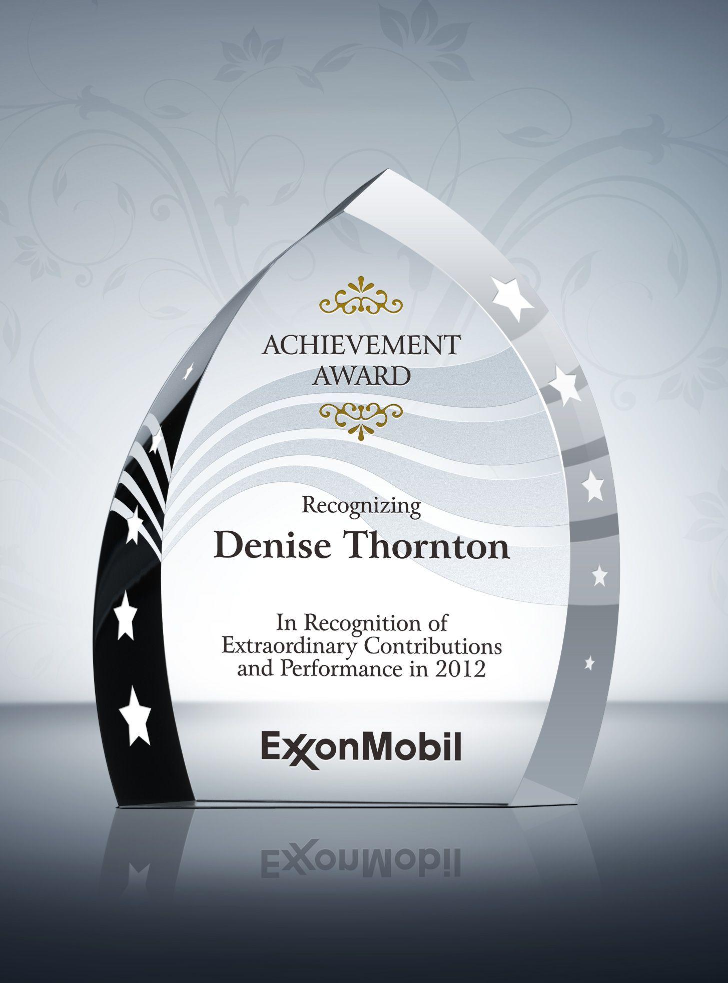 Employee Achievement Award Products