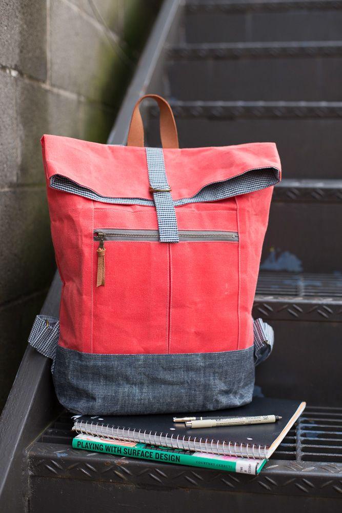 new pattern the range backpack handarbeit taschen beutel taschen n hen rucksack n hen. Black Bedroom Furniture Sets. Home Design Ideas