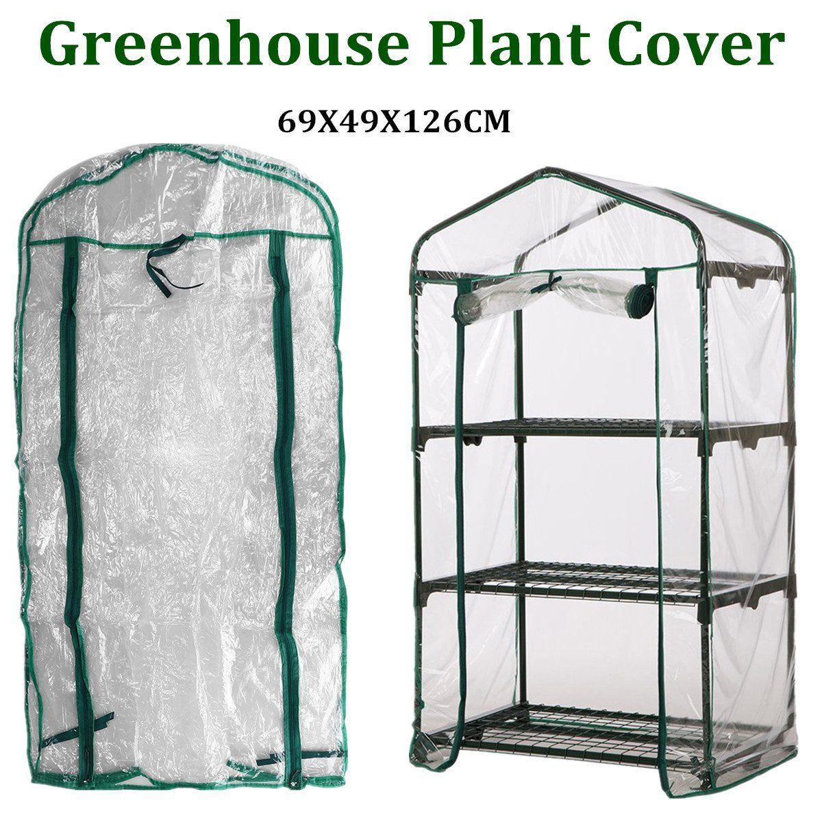 Waterproof 3 Tiers Garden Walk In Greenhouse In 2019 Products Tiered Garden Walk In Greenhouse Garden