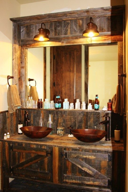 10 Impressive Rustic Diy Sink Vanity Farmhouse Style