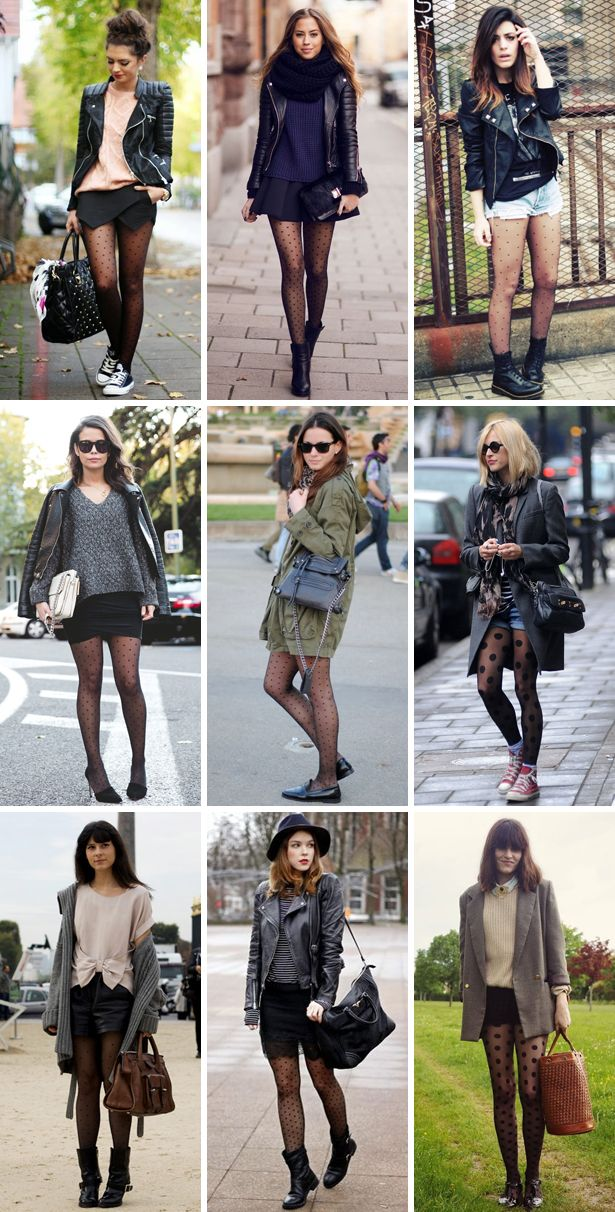 d7dd8956ef098 how to wear polka dot tights // amazing outfits with dotted tights ...