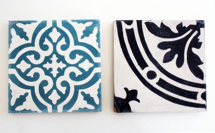 Malmö — tiles from Marrakech