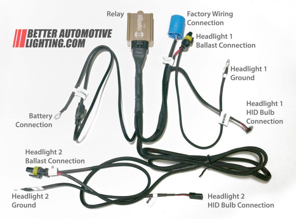 Dual Beam Headlight Wiring Di 2020