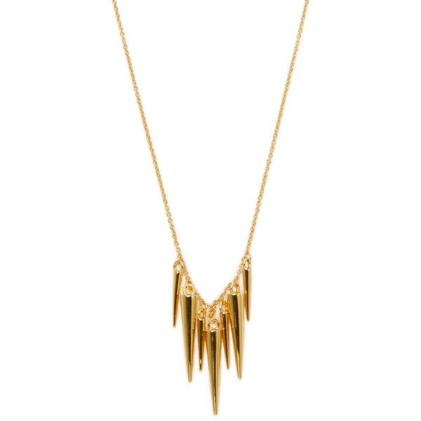Gorjana womens cersi tiered pendant necklace gold 63 cad gorjana womens cersi tiered pendant necklace gold 63 cad liked on polyvore aloadofball Images