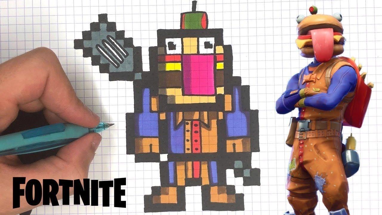 Fortnite Skins List En 2020 Dessin Pixel Dessin Pixel Art