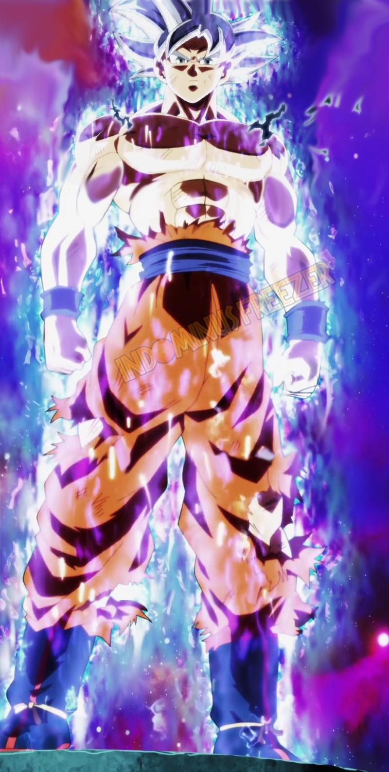 Goku Ultra Instinct Perfect V 1 By Indominusfreezer Dragon Ball Goku Dragon Ball Anime Dragon Ball Super