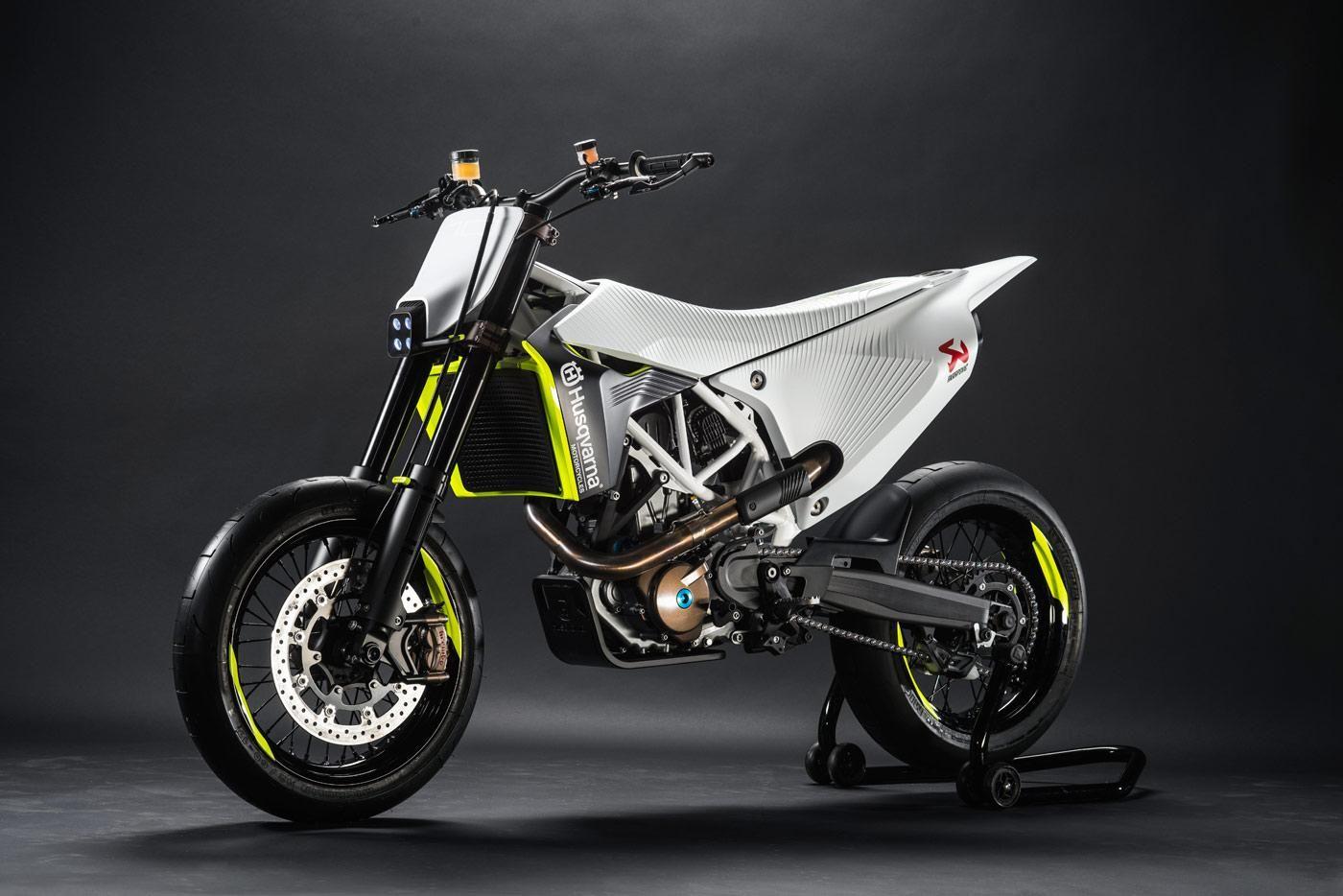 Supermoto ktm 690 stunt concept bikemotorcycletuned car tuning car - Husqvarna 701 Supermoto Concept Vielleicht Schon F R 75 Ps Auf 690 Kubik