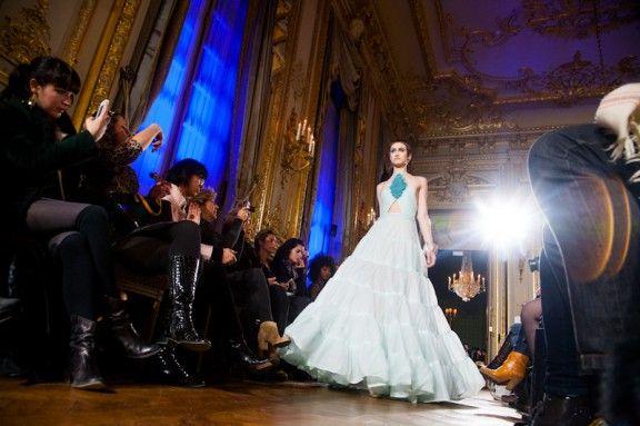París Couture Semana Oscar Carvello SS13 (Imagen: Hatnim Lee)