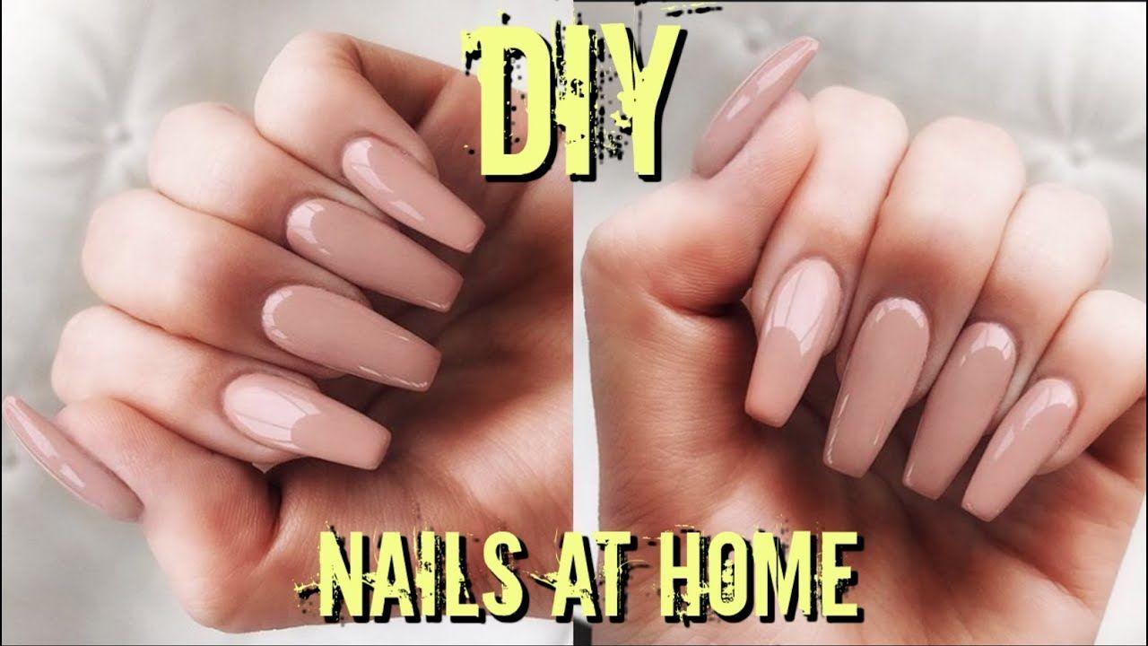 Diy fake nails at home 6 easy quick cheap fake
