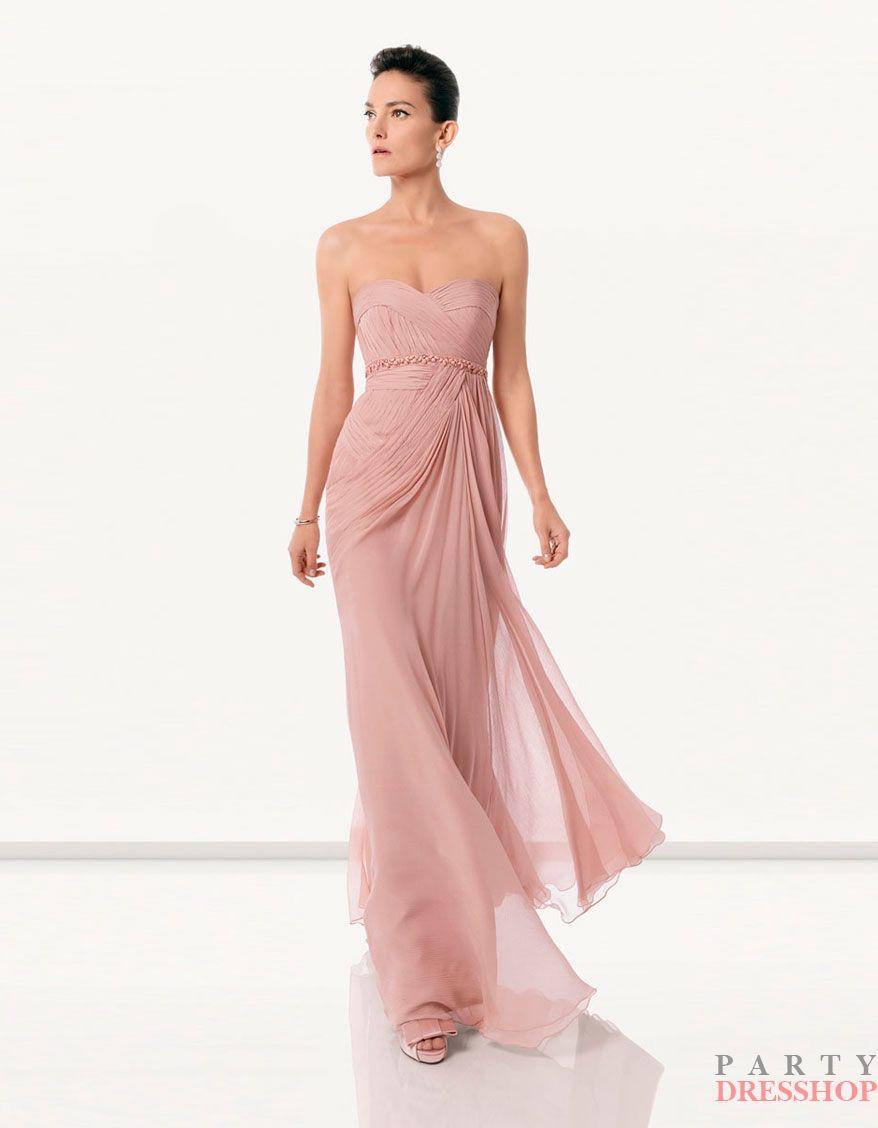 www.partydresshop.com Dark Pink Column Rosa Clara Cocktail Dresses ...