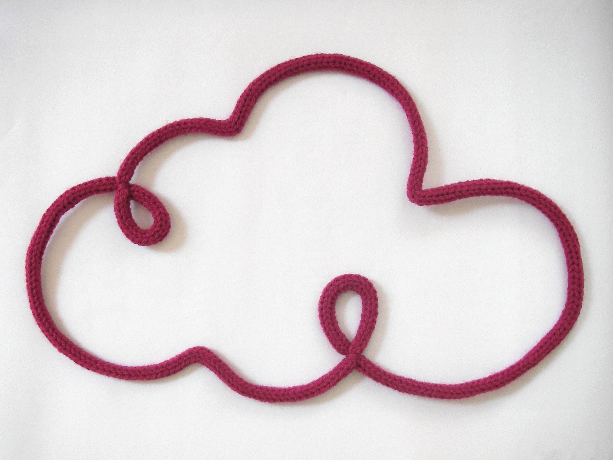 Poisson en laine | i-cord | Pinterest | Ganchillo, Costura y Bebe