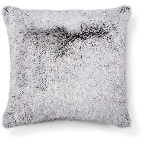 Gray Plush Oversized Throw Pillow Room Essentials Target 35 Liked On Polyvore Featuring Home Home Oversized Throw Pillows Plush Pillows Pillow Room
