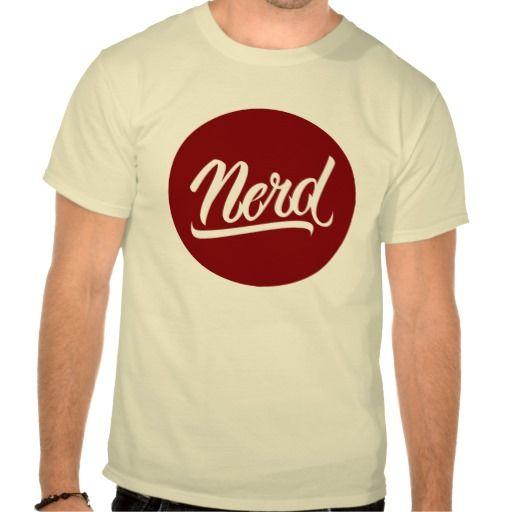NERD SHIRTS #Nerd #lettering #LetterHype