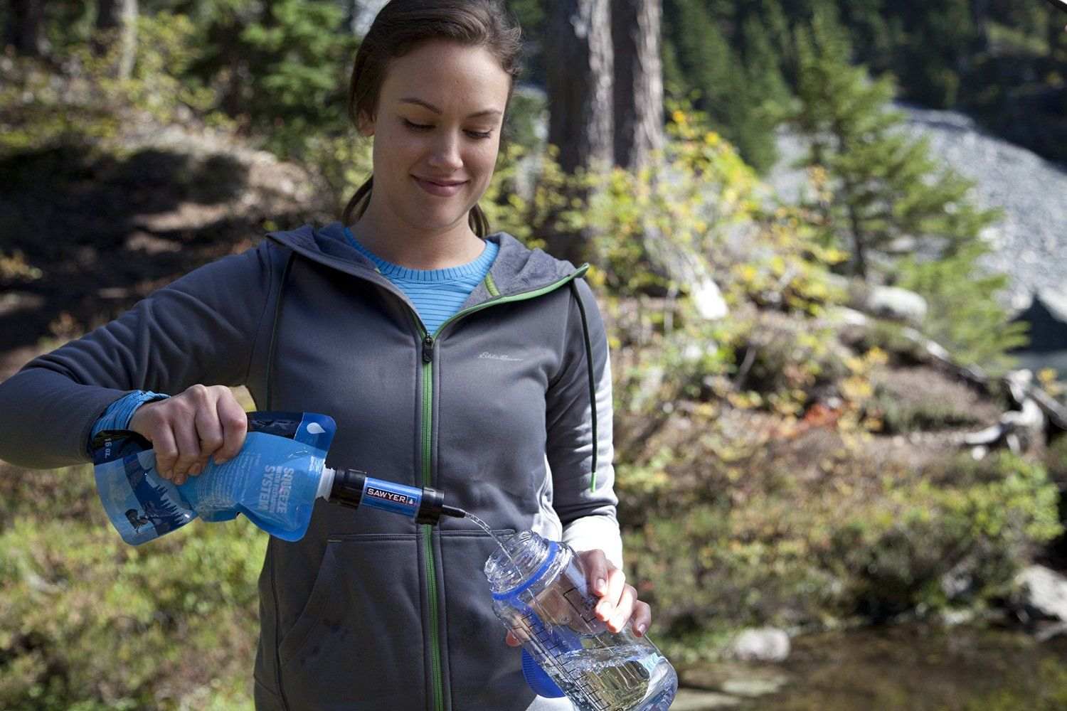 The Sawyer Mini Water Filtration System is our favorite