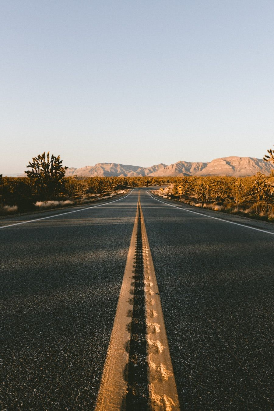 Low Angle View Of Asphalt Road During Daytime Desert Road Beautiful Roads Landscape Photography