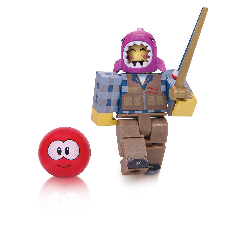Amazoncom Roblox Meepcity Fisherman Figure Pack Toys Games