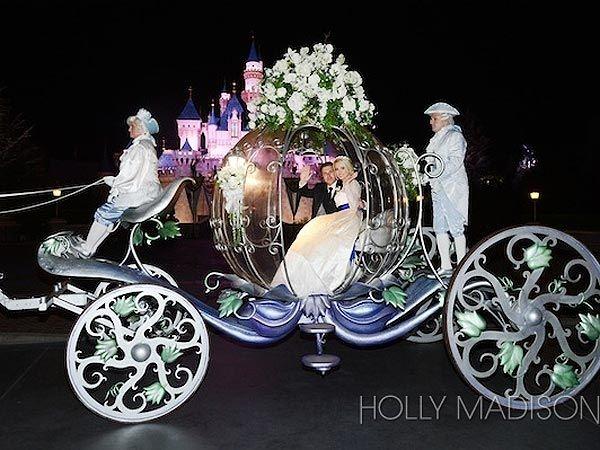 holly madisons fairytale wedding at disneyland