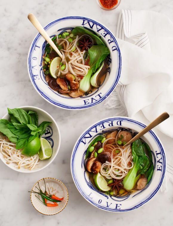 Easy Vegetarian Pho Recipe Love And Lemons Recipe Pho Recipe Vegetarian Pho Veggie Pho