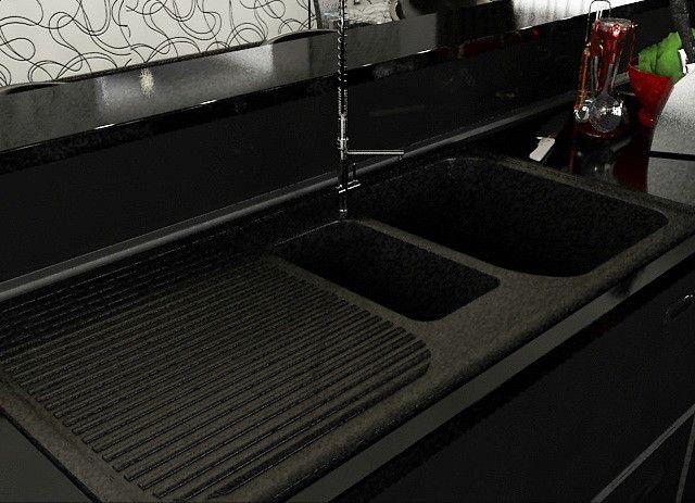 Kitchen Sink Teka Alba Max - 3D Model | 3D-Modeling | Pinterest ...