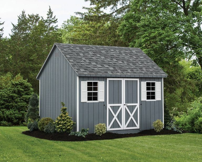Custom Amish Made Painted Sheds In The Lehigh Valley Painted Shed Shed Shed Sizes