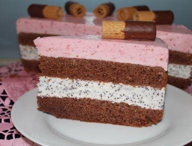 Manu`s+Himbeercreme-Torte