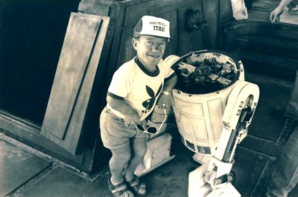 Kenny Baker R2D2 making of Star Wars | Film through the ...