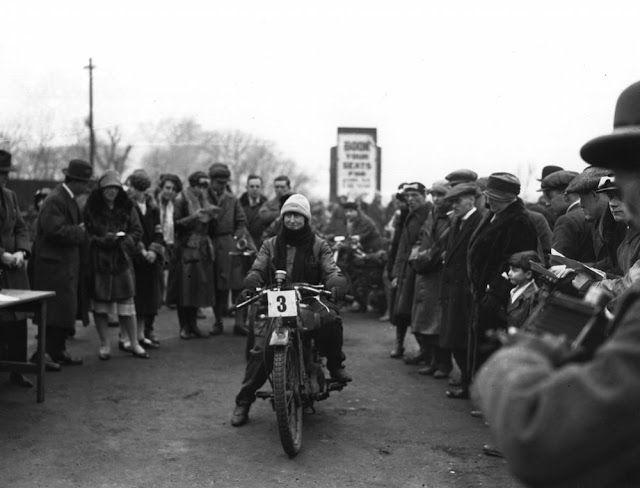 34 Vintage Photos of Badass Women Riding on Motorbikes in the 1920s ~ vintage ev…