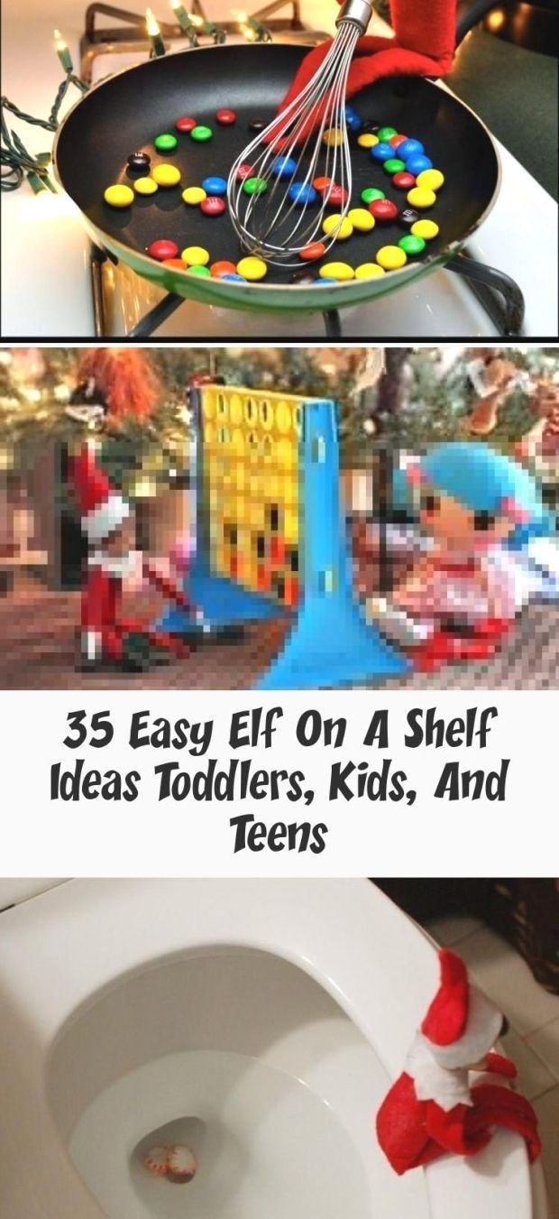 35 Easy Elf On A Shelf Ideas Toddlers, Kids, And Teens : elf on the shelf ideas … – Elf On The Self #easyelfontheshelfideaslastminute